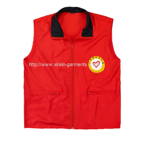 2018 Guangzhou Factory Wholesale Cheap Promotion Vest Unisex Waistcoat (V23)