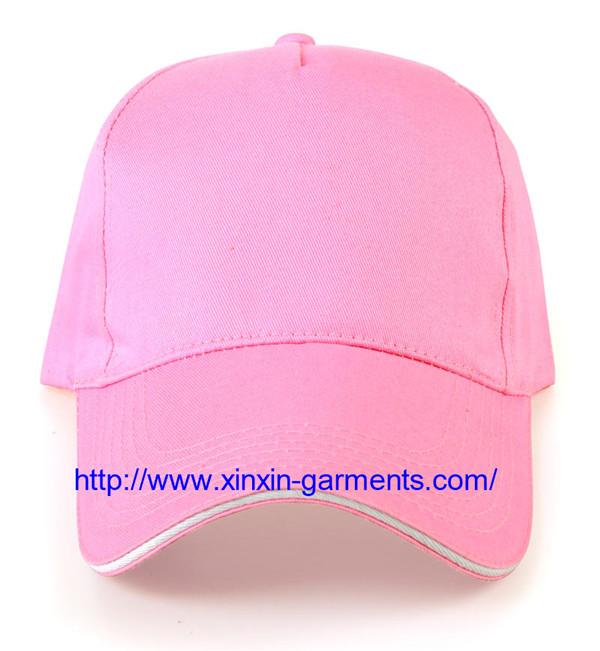 Brushed Cotton Twill Sandwich Embroidery Sport Baseball Cap M05