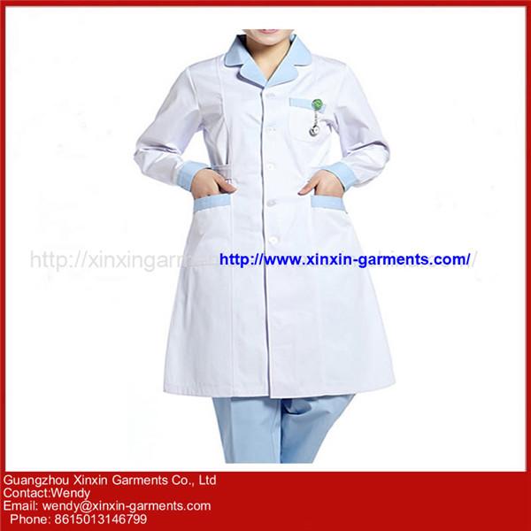 Comfortable Medical Scrubs OEM Nurse Uniform with 100% Cotton H102-1