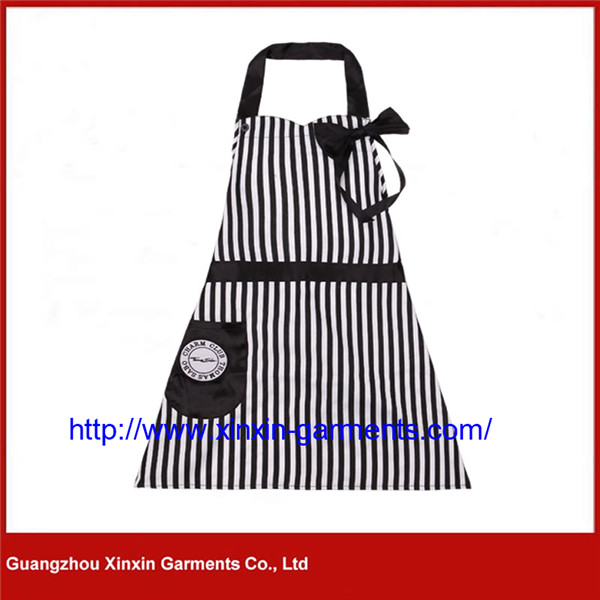 Custom Design Good Quality Cotton Polyester Aprons for Adult (A7)
