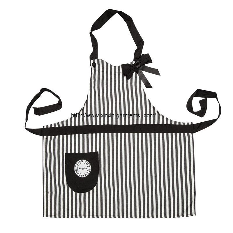 Factory Wholesale Cheap Cotton Polyester Aprons for Promotion (A7)
