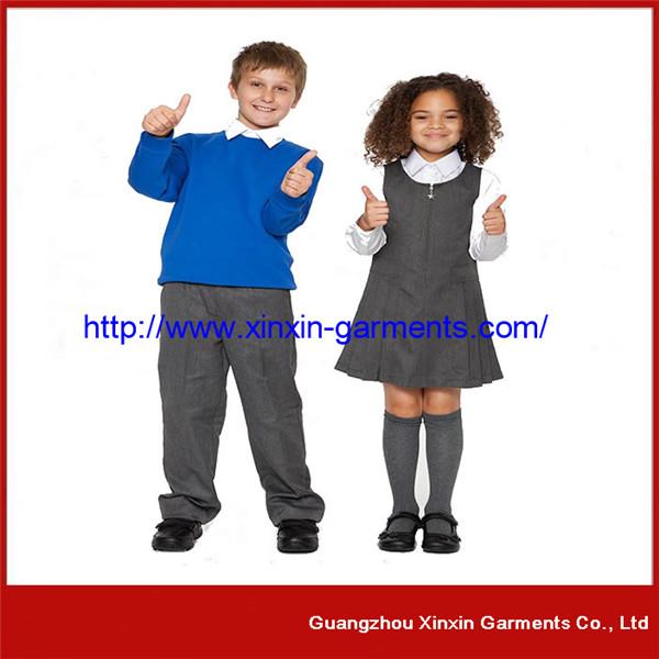 Factory Wholesale Cheap School Garments Wear Supplier (U08)