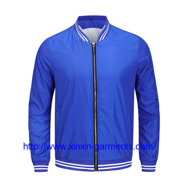 Fashion Custom Hot sale Logo High Quality Soft Jacket Simply mens bomber jacket custom CX111