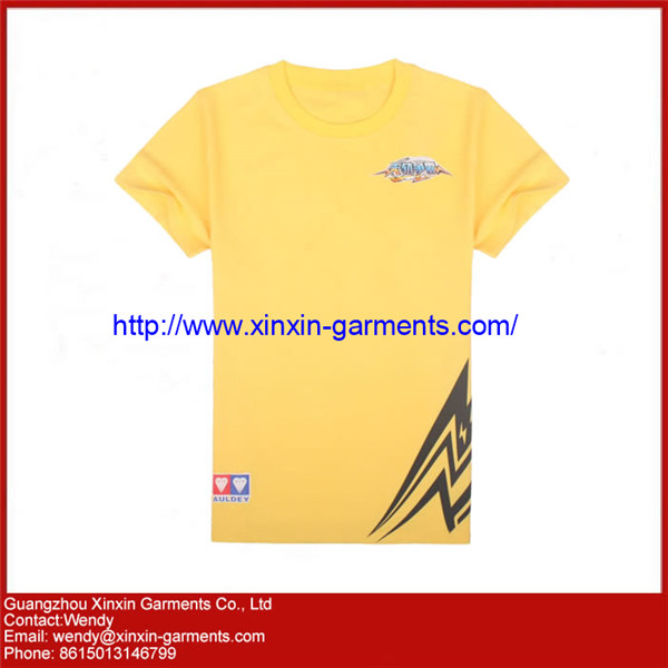 OEM Factory Silk Screen Printing Tshirts for Promotion with Your Own logo (R56)