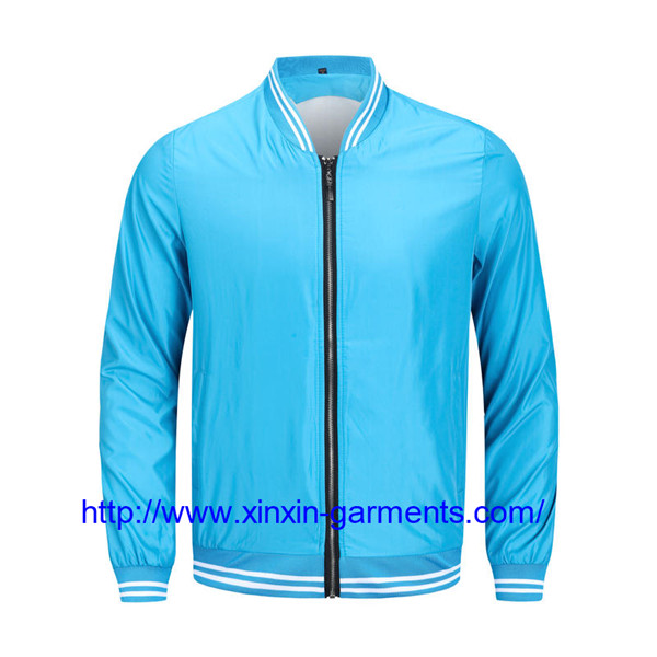 Promotional top quality customize windproof clothing spring wind breaker jackets for men CX111