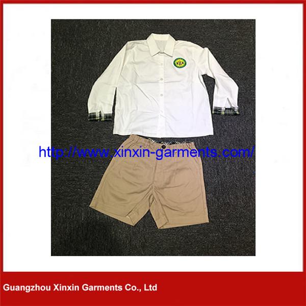 Summer Kindergarden Clothes with New British Style Primary School Uniforms U30