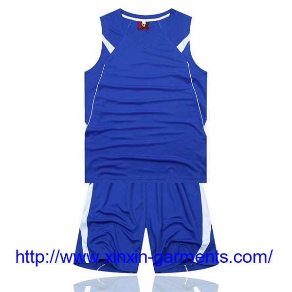 Super High Quality 100% Polyester Quick Dry Custom Basketball Jersey T2136