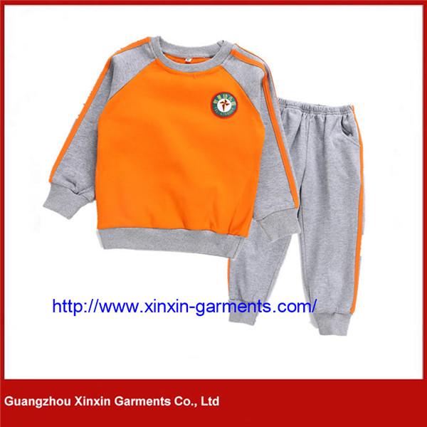 Wholesale Cheap Sport School Uniform Tracksuit for Boys Students (U150)