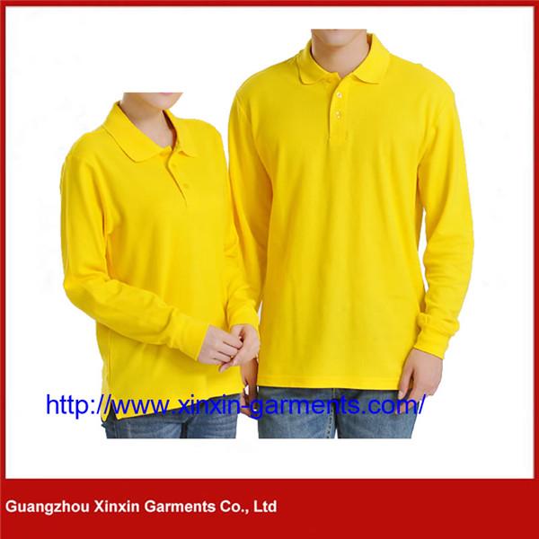 Wholesale Cotton Spandex Plain Short Sleeve Sport Golf Polo Shirt Men P408