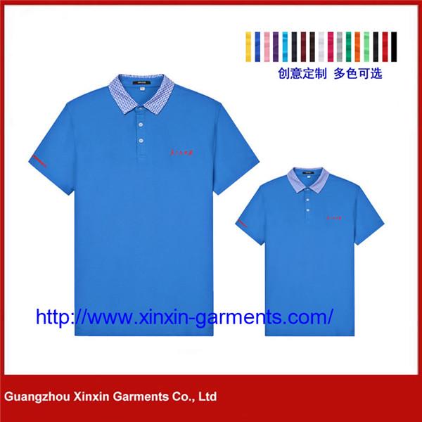 Wholesale Custom Design Sublimation Polyester Spandex Golf Polo Shirt For Men P439