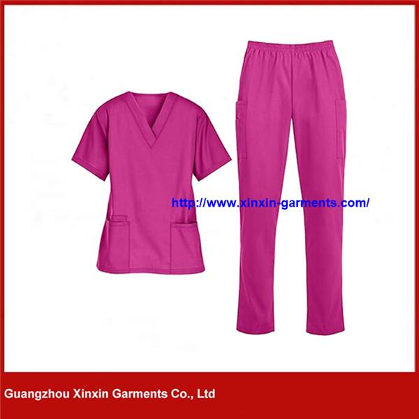 Wholesale Fashion Medial Scrubs Hospital Staff Uniform Nursing Uniforms Scrubs (H130)