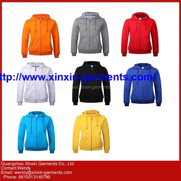Wholesale Full Zipper Men Hoodies with Printing T277-1