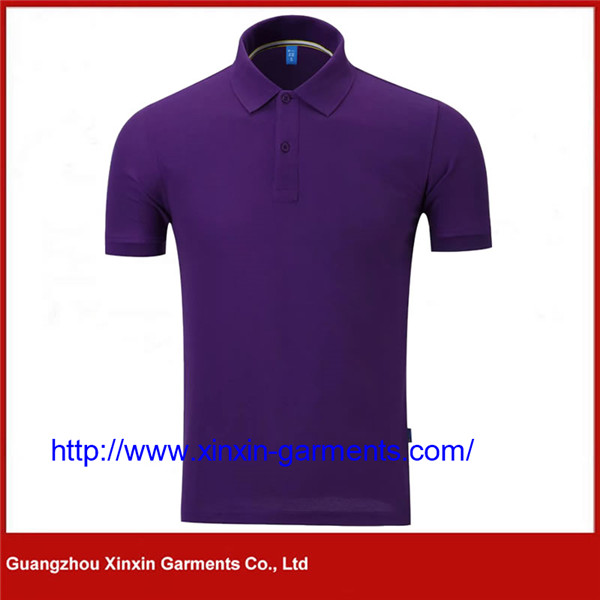 Wholesale Thick Cotton Polo Golf Shirt with Your Personal Logo (P435)