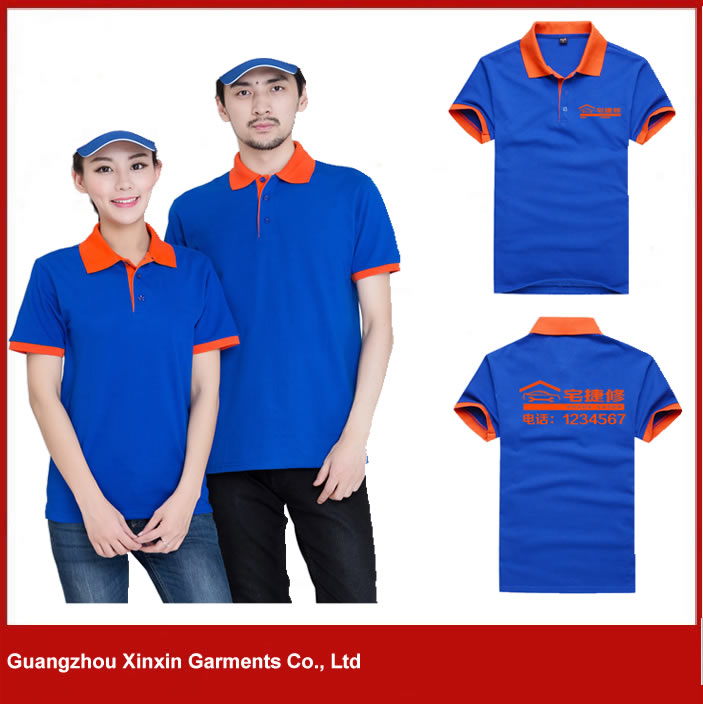 Customized sponsor promotional polo shirt for beer P57