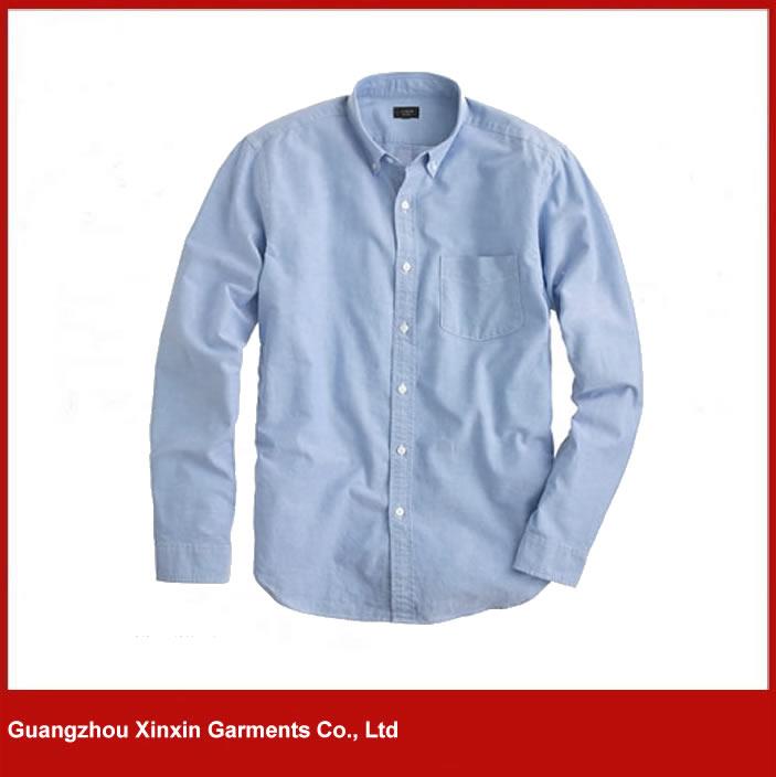 custom made modern tight fit long sleeve t shirt for business men S98