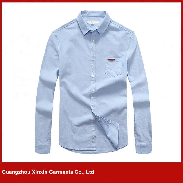 2016 new model light blue italian shirts for work uniforms(S79)