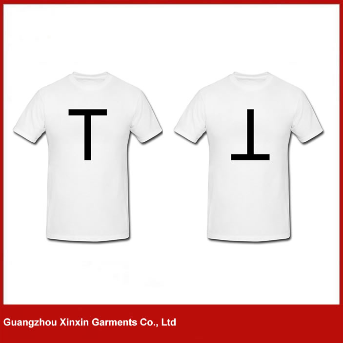 Promotional white printed 100% cotton guangzhou t shirt for sale(R81)
